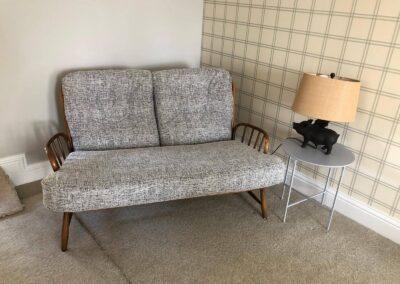 2 seater Reupholstered Sofa