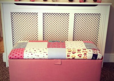 Upholstered Toy box