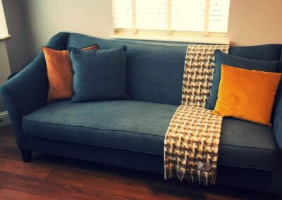 3 seater with scatter cushions