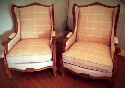Recovered 2 chairs
