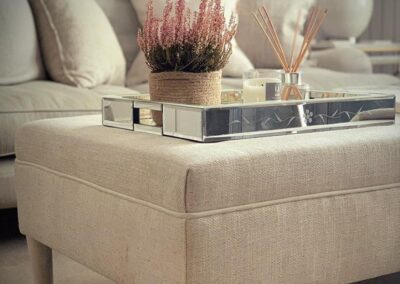 Modern Stool and sofa