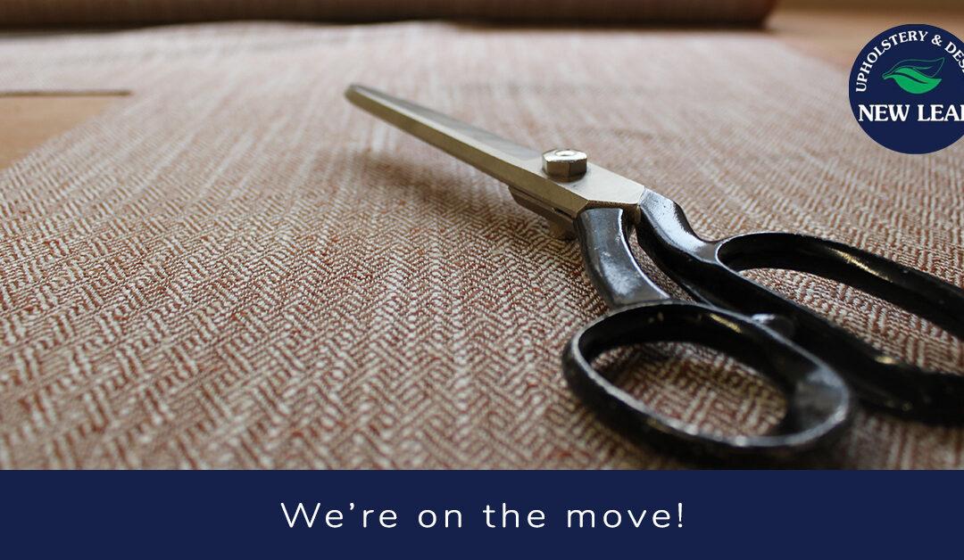 New Leaf blog header - We're on the Move